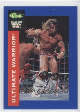 1991 Classic WWF Superstars - [Base] #114 - The Ultimate Warrior