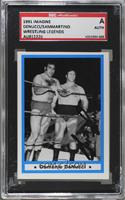 Domenic DeNucci (Domenic DeNucci, Bruno Sammartino) [SGC Authentic En…