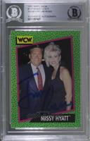Missy Hyatt (Pictured with Jim Ross) [BAS Certified Encased by&n…