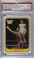 Randy Savage, Miss Elizabeth [PSA 9 MINT]