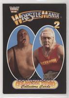 Wrestlemania 2 (Hulk Hogan vs King Kong Bundy)