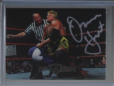 1998 Comic Images WWF Superstarz - Autographs #OWHA - Owen Hart