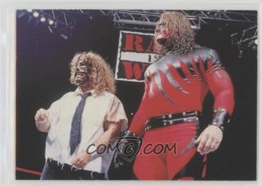 1998 Comic Images WWF Superstarz - [Base] #54 - Kane, Mankind