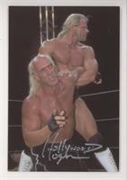 Hulk Hogan, Lex Luger [JSACertifiedCOASticker]