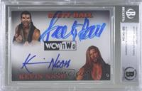 Scott Hall, Kevin Nash [BAS Certified Encased by BGS]