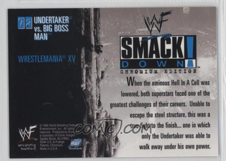 1999 Comic Images WWF SmackDown! Chromium - [Base] #72