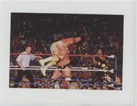 Randy Savage, Queen Sherri vs. Dusty Rhodes, Sapphire