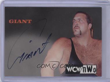 1999 Topps WCW/nWo Nitro - Authentic Signatures #GIAN - Giant