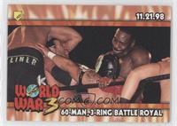 60-Man, 3-Ring Battle Royal (World War 3)