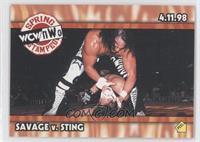 Savage v. Sting (Spring Stampede)
