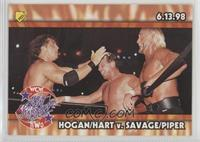 Hogan/Hart v. Savage/Piper (Great American Bash)