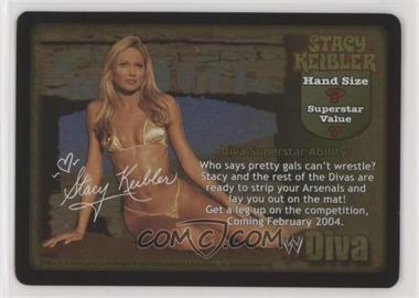 2000 WWF Raw Deal Trading Card Game - Promos #113 - Stacy Keibler