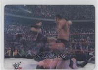 The Rock & Mick Foley vs. Chris Benoit