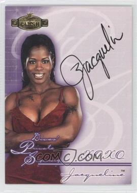 2001 Fleer WWE Championship Clash - Divas Private Signings #DPS-N/A - Jacqueline