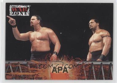 2001 Fleer WWF Raw is War - [Base] #51 - APA