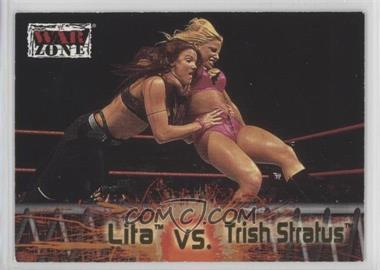 2001 Fleer WWF Raw is War - [Base] #66 - Lita vs. Trish Stratus
