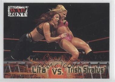 2001 Fleer WWF Raw is War - [Base] #66 - Lita vs. Trish Stratus