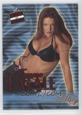 2001 Fleer WWF Raw is War - Femme Fatale #14FF - Lita