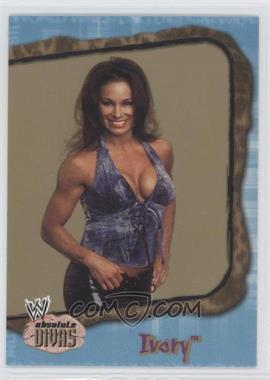 2002 Fleer WWE Absolute Divas - [Base] - Diva Gems Gold #18 - Ivory