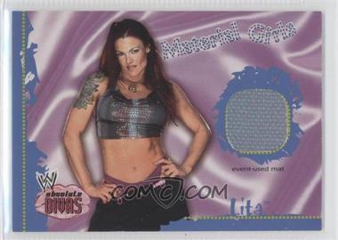 2002 Fleer WWE Absolute Divas - Material Girls #LI - Lita