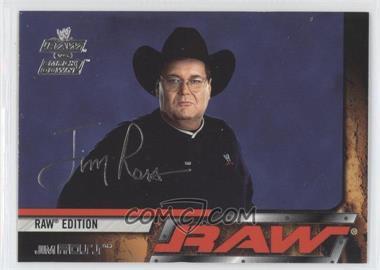 2002 Fleer WWE RAW vs SmackDown! - [Base] #5 - Jim Ross