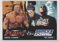 Brock Lesnar, The Rock