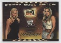 Stacy Keibler vs. Trish Stratus (Gravy Bowl Match)