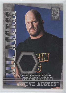 2002 Fleer WWF All Access - All Access Materials #AAM-SA - Stone Cold Steve Austin