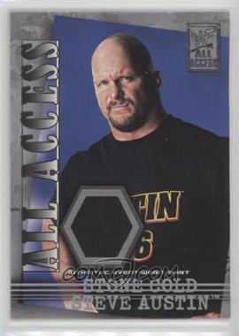 2002 Fleer WWF All Access - All Access Materials #AAM-SA - Stone Cold Steve Austin