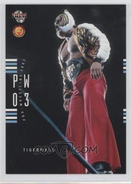 2003 BBM Pro Wrestling - [Base] #012 - Tiger Mask