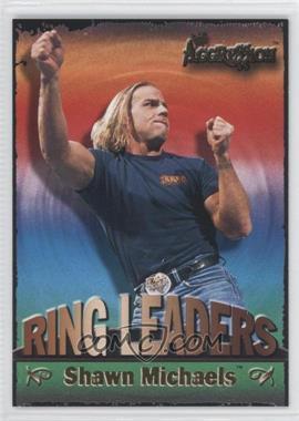 2003 Fleer WWE Aggression - Ring Leaders #12 RL - Shawn Michaels