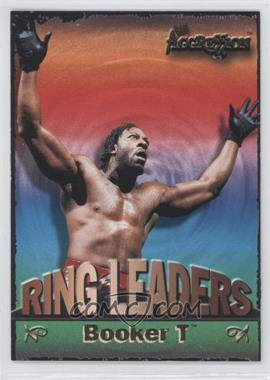 2003 Fleer WWE Aggression - Ring Leaders #15 RL - Booker T