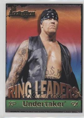 2003 Fleer WWE Aggression - Ring Leaders #6 RL - Undertaker