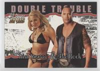 Double Trouble - Trish Stratus, The Rock