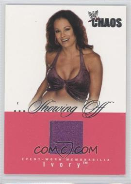 2004 Fleer WWE Chaos - ...Showing Off - Memorabilia [Memorabilia] #SO-N/A - Ivory