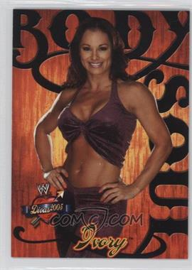 2004 Fleer WWE Divine Divas 2005 - Body And Soul #8 BS - Ivory
