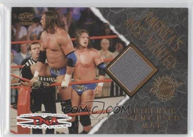 2004 Pacific TNA - Authentic Event-Used Mat #1 - America's Most Wanted /1525
