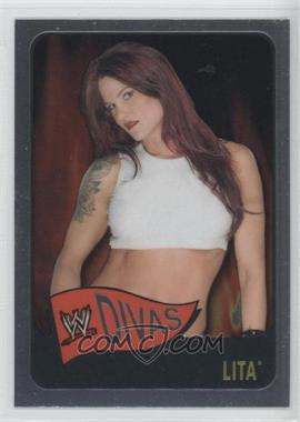 2006 Topps Chrome WWE Heritage - [Base] #63 - Lita