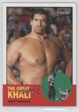 2006 Topps Heritage II WWE - [Base] #7 - The Great Khali