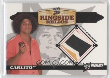 2006 Topps Heritage II WWE - Ringside Relics #CA - Carlito