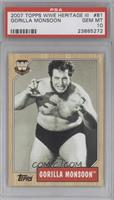 Gorilla Monsoon [PSA 10]