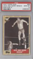Jack and Gerry Brisco [PSA 10]