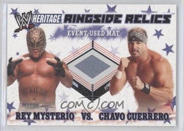 2007 Topps Heritage III WWE - Ringside Relics #NoN - Rey Mysterio, Chavo Guerrero