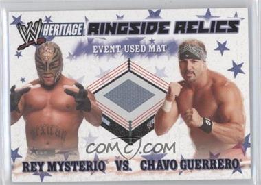 2007 Topps Heritage III WWE - Ringside Relics #RMGC - Rey Mysterio, Chavo Guerrero