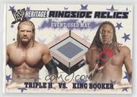 Triple H, King Booker [Noted]