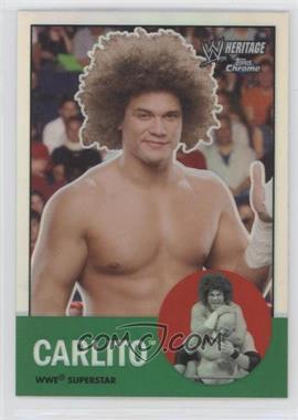 2007 Topps Heritage WWE Chrome Heritage II - [Base] - Refractor #3 - Carlito