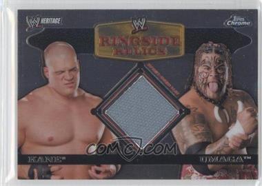 2007 Topps Heritage WWE Chrome Heritage II - Ringside Relics #N/A - Kane, Umaga
