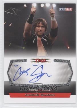 2008 TRISTAR TNA Wrestling Cross the Line - Autographs - Silver #C-CS - Chris Sabin