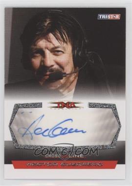 2008 TRISTAR TNA Wrestling Cross the Line - Autographs - Silver #C-HG - Hector Guerrero
