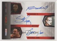 Booker T, Sting, Samoa Joe /25
